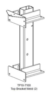 Rotary T100295BL Dp10X400 Extension Height Kit