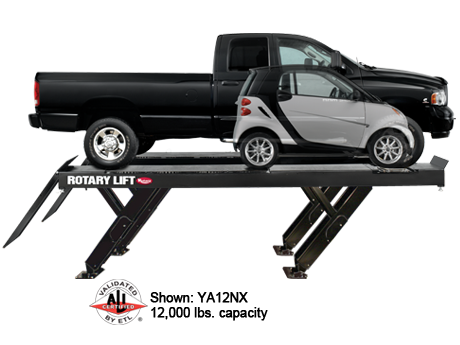 ROTARY YA12 Drive-On Space Saver Alignment Rack Lift