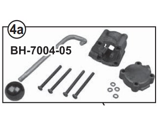 Fenner V-12 Lowering Handle and Cover Kit - A-01