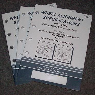 2009 Vehicle Specification Book