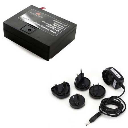Spektrum 2000mAh TX Battery w/AC Adapter DXe, 6e, 6G2&3, 7&8G2