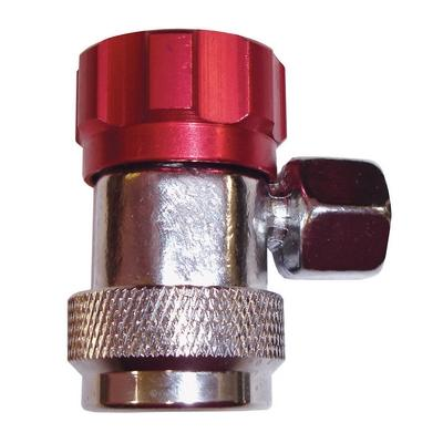 AC2500 TMR MANUAL SERVICE COUPLER R134A HIGH SIDE (RED) 6 BEARIN