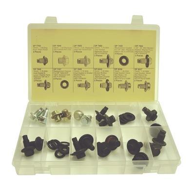 DP750 TMR LARGE O.E. STYLE DRAIN PLUG ASSORTMENT (32 PCS)