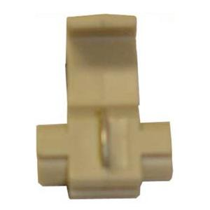 EL15-100 TMR WHITE QUICK SPLICE CONNECTOR - SCOTCH LOCK TYPE (10