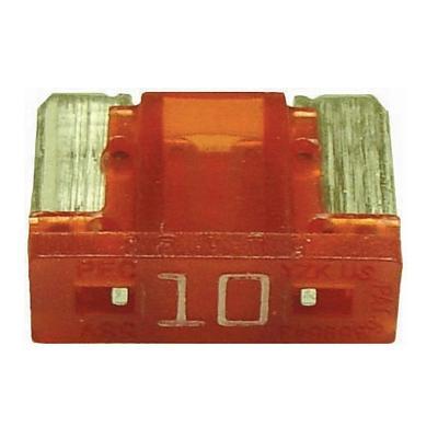 FU089010-10 TMR LOW PROFILE MINI 10 AMP BLADE FUSE RED (10 PER B