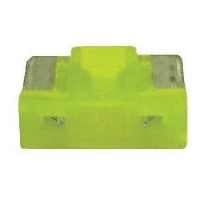 FU089020-10 TMR LOW PROFILE MINI 20 AMP BLADE FUSE YELLOW (10 PE