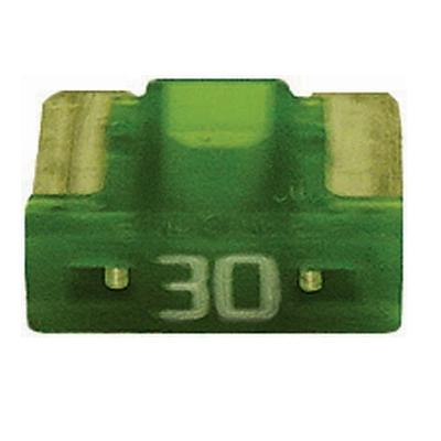 FU089030-10 TMR LOW PROFILE MINI 30 AMP BLADE FUSE GREEN (10 PER