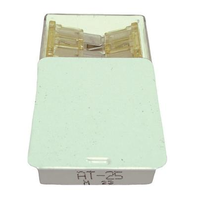 FUAT25BX TMR ATC / ATO 25 AMP BLADE FUSE (100 PER BOX - 20 BOXES