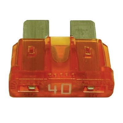 FUATC40-100 TMR ATC / ATO 40 AMP BLADE FUSE (100 PER BAG)