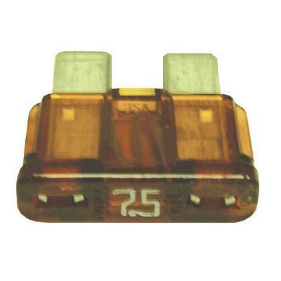 FUATC7.5-100 TMR ATC / ATO 7.5 AMP BLADE FUSE (100 PER BAG)