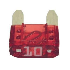 FUATM10-100 TMR MINI 10 AMP FUSE RED (100 PER BAG)