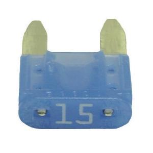 FUATM15-100 TMR MINI 15 AMP FUSE BLUE (100 PER BAG)