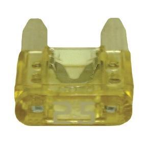 FUATM25-100 TMR MINI 25 AMP FUSE TAN (100 PER BAG)