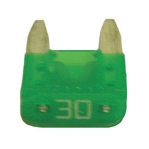 FUATM30-100 TMR MINI 30 AMP FUSE GREEN (100 PER BAG)