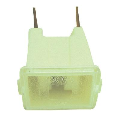FUFLM20 TMR MALE PAL 20 AMP FUSE WHITE(Bag of 10)