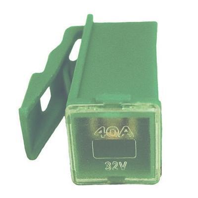 FULPMIN40 LOCKING FEMALE MINI PAL 40 AMP FUSE LIGHT GREEN(Bag of