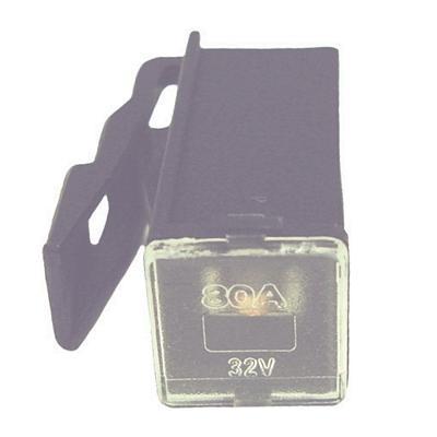 FULPMIN80 LOCKING FEMALE MINI PAL 80 AMP FUSE BLACK(Bag of 10)