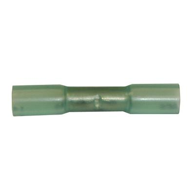 HT25-100 TMR BUTT CONNECTOR WITH HEAT SHRINK TUBING BLUE (14-16)