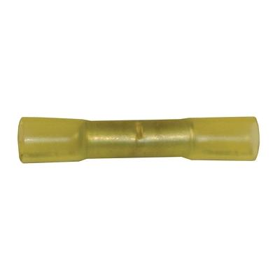 HT30-100 TMR BUTT CONNECTOR WITH HEAT SHRINK TUBING YELLOW (10-1