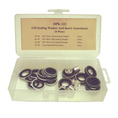 OPK122 TMR GM SEALING WASHER AND INSERT KIT (24 PCS)