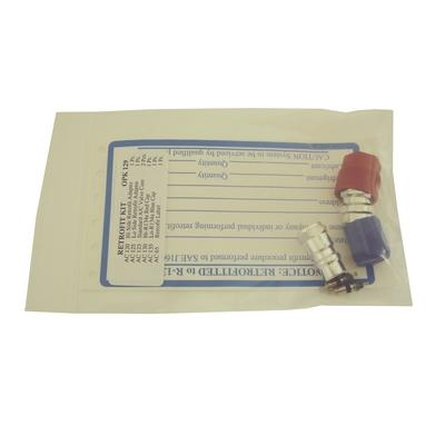 OPK129 TMR ALUMINUM RETROFIT 1 VEHICLE KIT WITH RETROFIT LABEL (