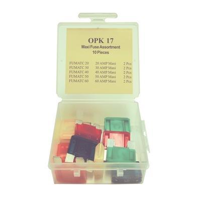 OPK17 TMR MAXI-FUSE ASSORTMENT (10 PCS) U.S. MADE