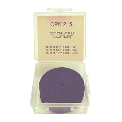 OPK215 TMR CUT OFF WHEEL ASSORTMENT U.S. MADE (12 PCS)
