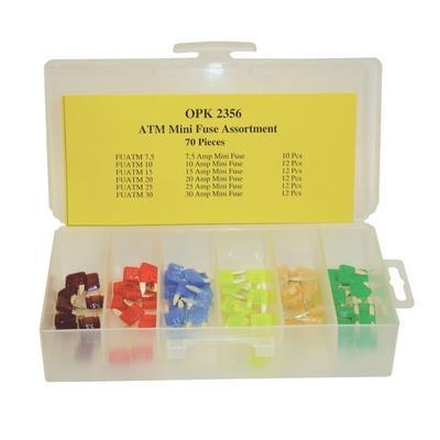OPK2356 TMR MINI FUSE ASSORTMENT (70 PCS)