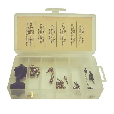 OPK40 TMR VALVE CORE KIT R12 AND R134A COMPATIBLE (27 PCS)