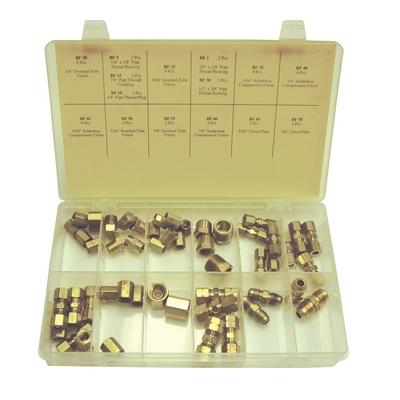 OPK42 TMR BRASS FITTING ASSORTMENT (56 PCS)