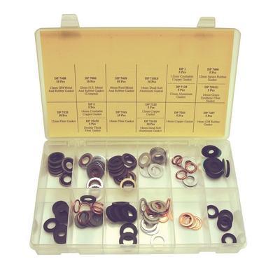 OPK62 TMR METRIC DRAIN PLUG GASKET ASSORTMENT (115 PCS)