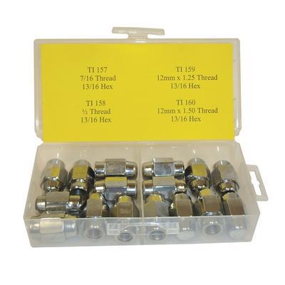 OPK66 TMR SHORT SHANK LUG NUT ASSORTMENT (16 PCS)