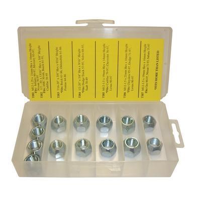 OPK68 TMR LUG NUT ASSORMTENT (14 PCS)