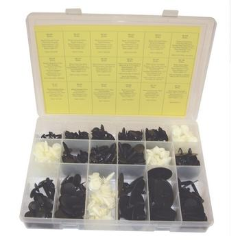 OPK74 TMR LARGE GM DOOR AND PANEL RETAINER ASSORTMENT (339 PCS)