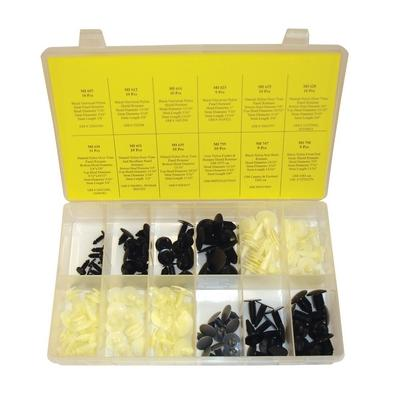 OPK75 TMR GM DOOR AND PANEL RETAINER ASSORTMENT (118 PCS)