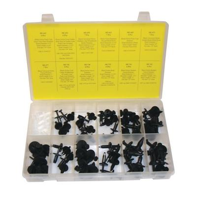 OPK76 TMR GM DOOR AND PANEL RETAINER ASSORTMENT (76 PCS)