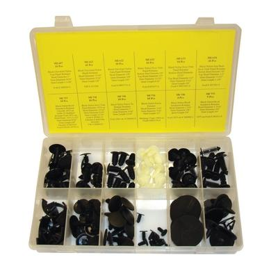 OPK78 TMR FORD DOOR AND PANEL RETAINER ASSORTMENT (113 PCS)