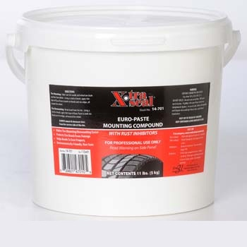 TI311 TMR EURO STYLE WHITE TIRE PASTE 11 LB BUCKET (12 PER CASE)