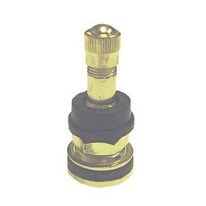 TR416 NICKEL PLATED TIRE VALVE, 1 1/2