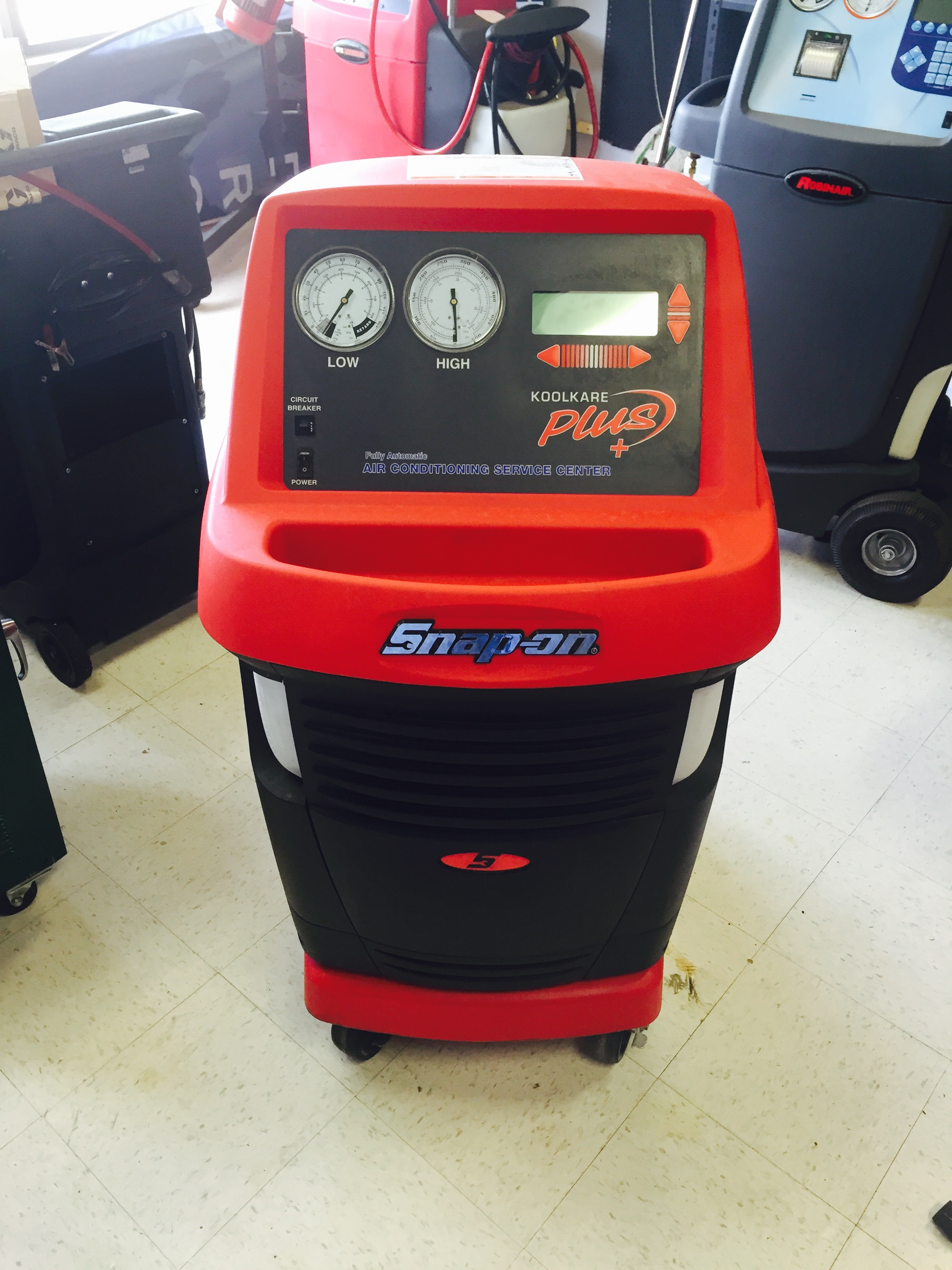 Used Snap-On EEAC325B AC Machine  - serial # 202459