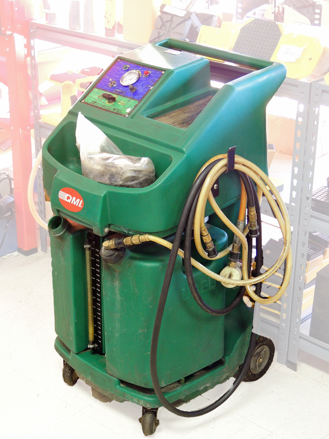 Used QMI Coolant Exchange Machine